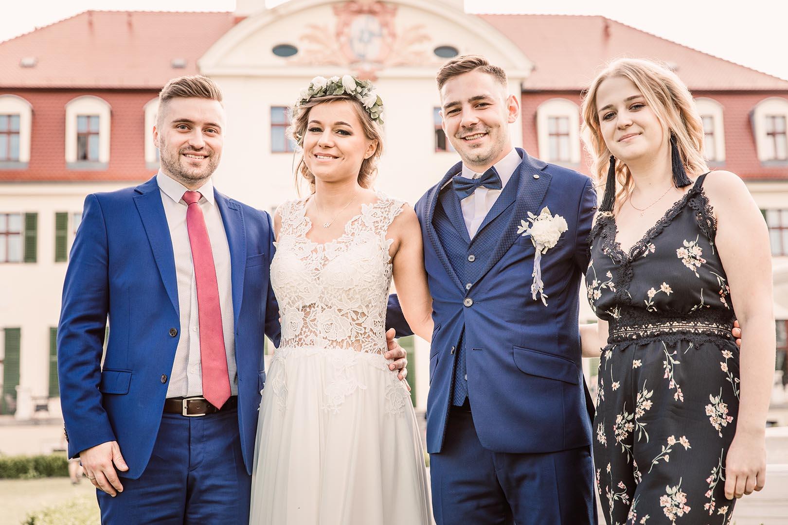 Fotografia ślubna grupowa